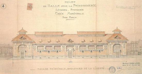 Halles bd de la liberte