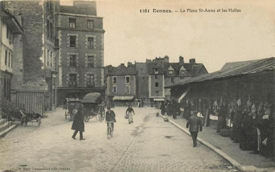 Rennes place sainte anne - Sortir a rennes aujourd hui ...