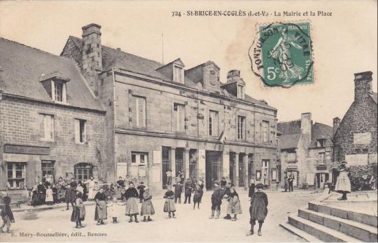 Mairie halles saint brice