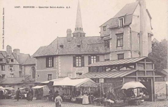 Rennes quartier staubin petite halle